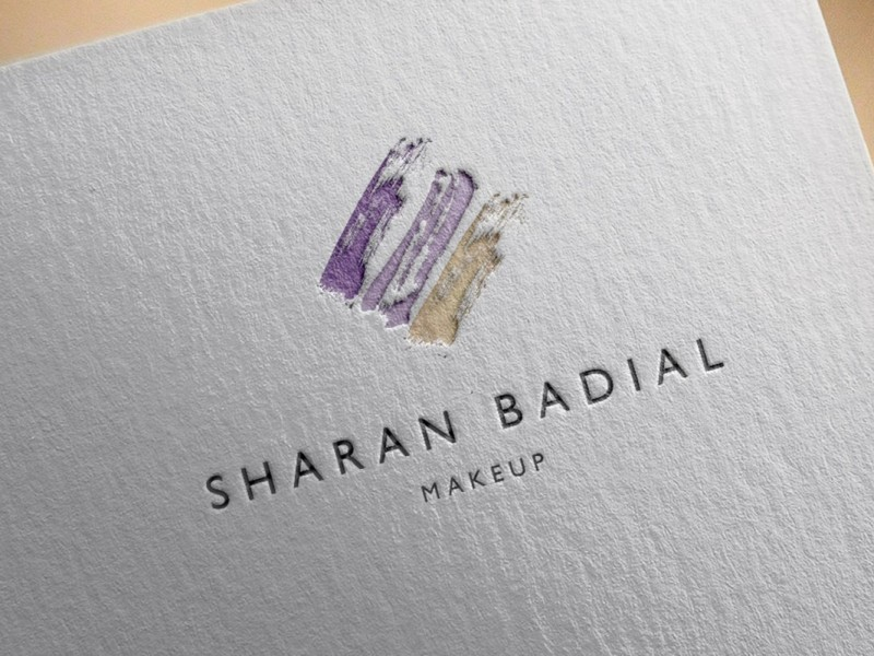 Sharan Badial Makeup - Branding & Logo Design