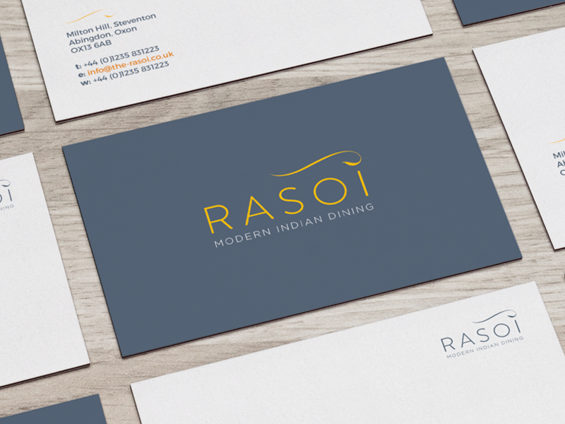 Rasoi - Modern Indian Dining - Branding & Logo Design