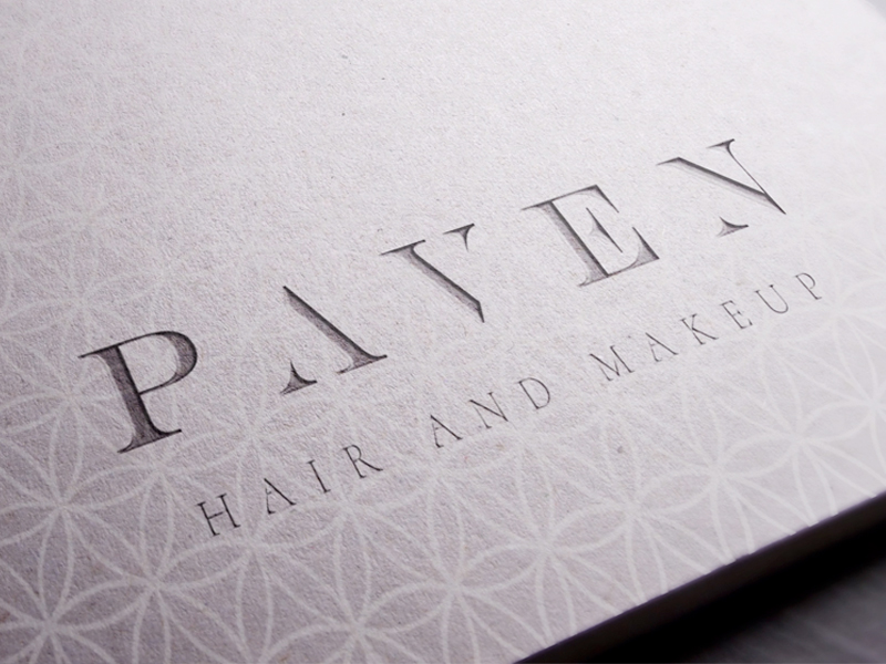 Paven Hair & Make Up - Branding & Logo Design