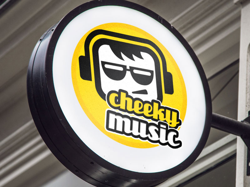 Cheeky Music - Branding & Logo Design