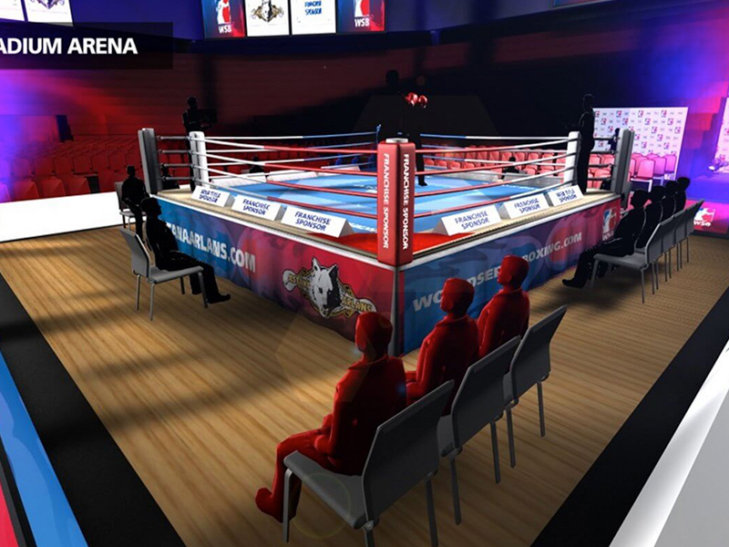 World Series Boxing - 3D Visualisation