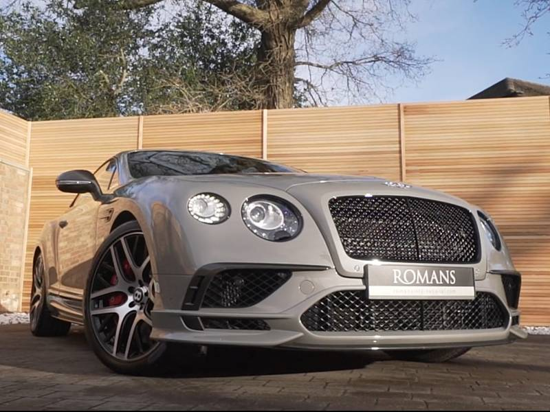 Bentley Continental GT Supersports - Vehicle Promotion