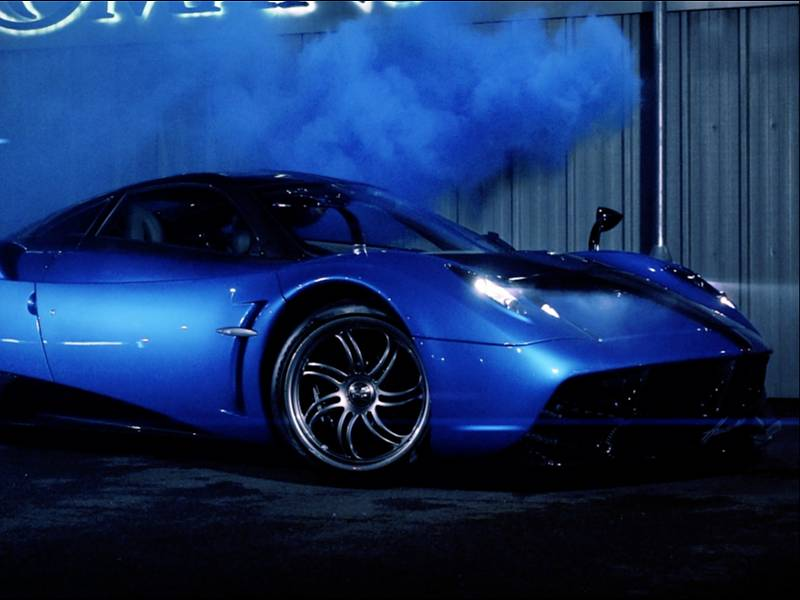 Pagani Huayra - Vehicle Promotion