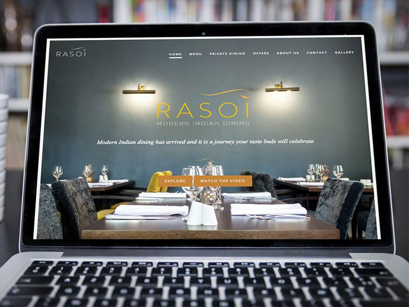 Rasoi - Modern Indian Dining - Bespoke